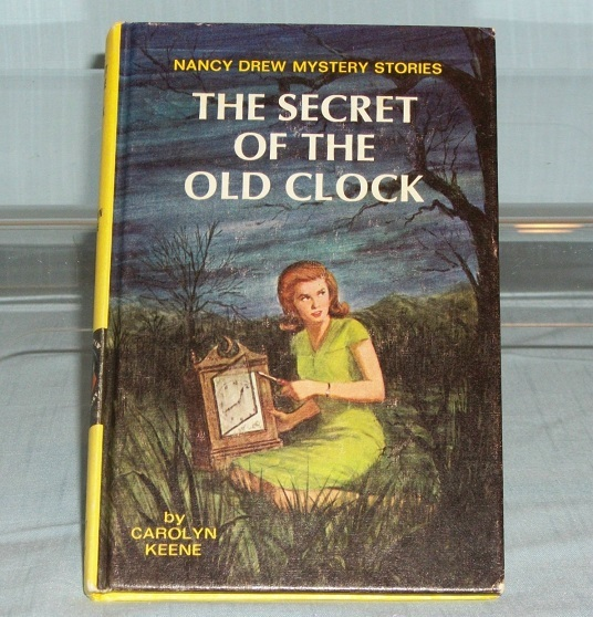 Nancy Drew #1 The Secret of the Old Clock Vintage Yellow Spine Matte PC Revised
