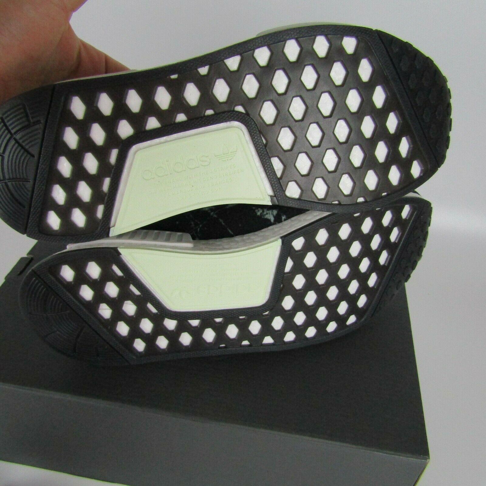 "Adidas Nmd_R1 Primeknit "" Grün Marmor "" Schuhe Herren Größe 12 BB7996 image 7"