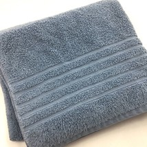 Hotel Collection Ultimate MicroCotton Bath Towel Solid Blue Lake 30x56 $31 - $29.65