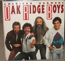 Oak Ridge Boys American Harmony LP 1986 DBL - $7.95