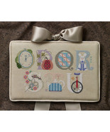 Letters O-U Part 3 alphabet collection cross stitch chart Cricket Collec... - $7.20