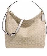 Coach Outline Signature Celeste Hobo Shoulder Crossbody Bag Purse Handbag F58327 - $129.99