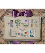 Letters H-N Part 2 alphabet collection cross stitch chart Cricket Collec... - $7.20