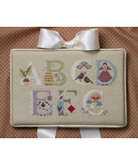 Letters A-G Part 1 alphabet collection cross stitch chart Cricket Collec... - $7.20