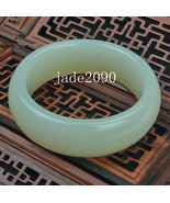 FREE SHIPPING -  real Natural  light green  jade Good luck peace WOMAN b... - $38.99