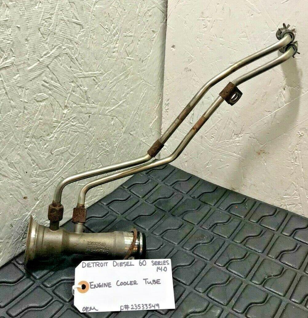 Detroit Diesel Series 60 DDEC IV 14.0 EGR Cooler Tube 23533549 OEM