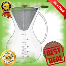 Pour Over Coffee Maker Set(28oz/800ml),Glass Carafe with Coffee Dripper ... - $26.09