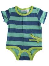First Impressions Baby Boys 1-pc Stripe-Print Gator Creeper Bodysuit, 0-... - $5.00
