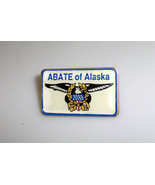 Abate Alaska Bikers Advocating Training Education Pin  - $5.49