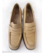 JOAN HELPERN heels loafers 40 shoes bone Italy ... - $34.99