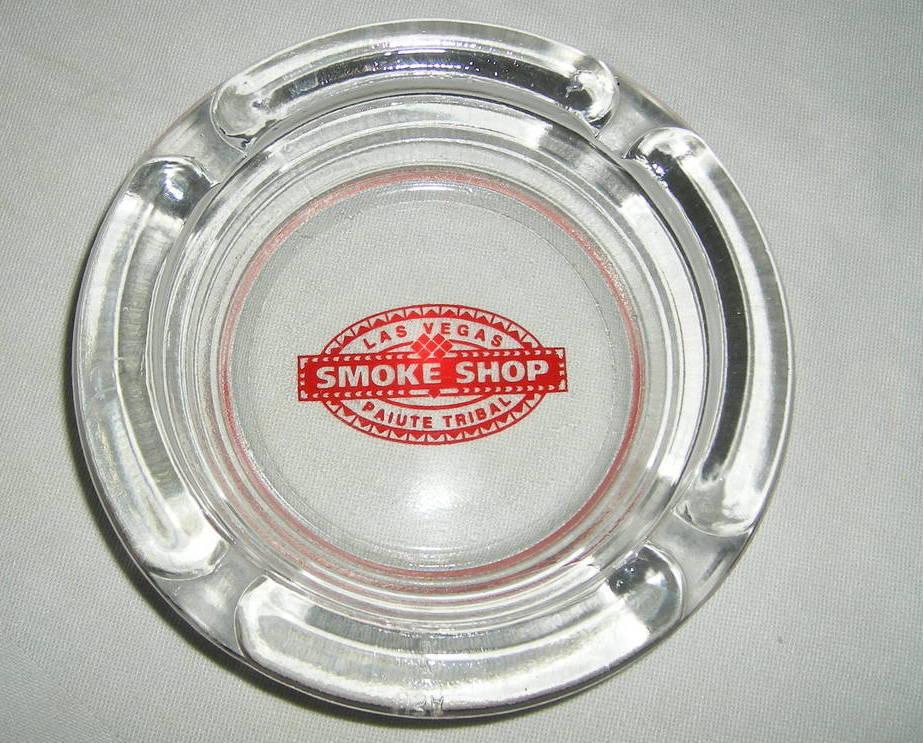 SMOKE SHOP PAIUTE TRIBAL Ashtray LAS VEGAS