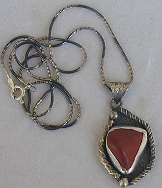 Primary image for Blood stone pendant-G