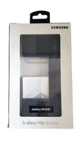 Samsung OEM Wallet S-View Flip Cover - Black - $15.00
