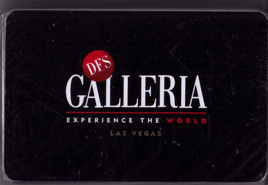 DFS GALLERIA Las Vegas Playing Cards, New