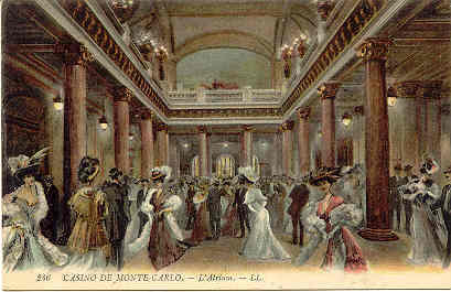 Casino De Monte Carlo Vintage Post Card