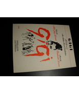 Sheet Music Gigi Lerner and Loewe MGM Lowal Chappell Music Alfred Freed ... - $8.99