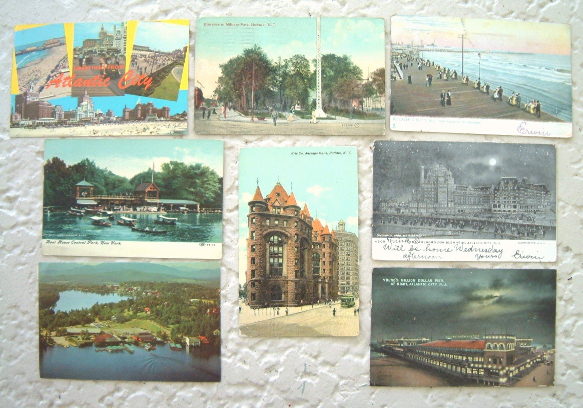 Lot Vintage New England Brochures Maps Postcards World Fair