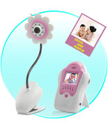 Baby Monitor (Night Vision, AV OUT, Flower Design)  - $84.92