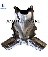 Larp Armour Medieval Knight Body Armor Breastplate Cuirass Armour - $299.00