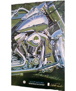 "Harley Davidson  Poster -- ""Reflections on Can... - $15.99"