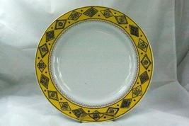 "Studio Nova Sketch Book Yellow Round Platter Chop Plate #YA089 12"" - $27.02"