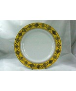 "Studio Nova Sketch Book Yellow Round Platter Chop Plate #YA089 12"" - $24.56"