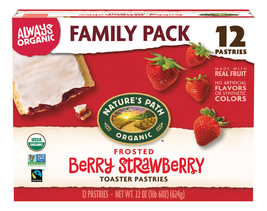 Nature's Path Organic Toaster Pastries, Frosted Berry Strawberry, 12 Ct - $10.00