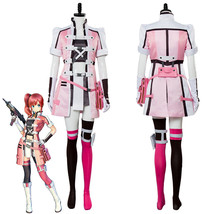 Sword Art Online Fatal Bullet Kureha Cosplay Costume Dress Uniform - $119.00+