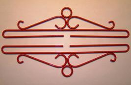 """Red Wrought Iron Bellpull pair 20cm (8"""") 80520R Lene Boje  - $21.60"""