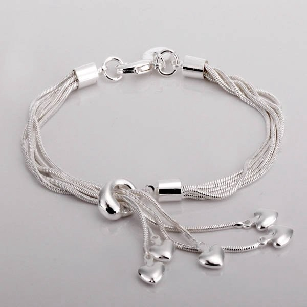 Primary image for wholesale 925 Sterling Silver fashion jewelry fashion bracelet.Christmas gift