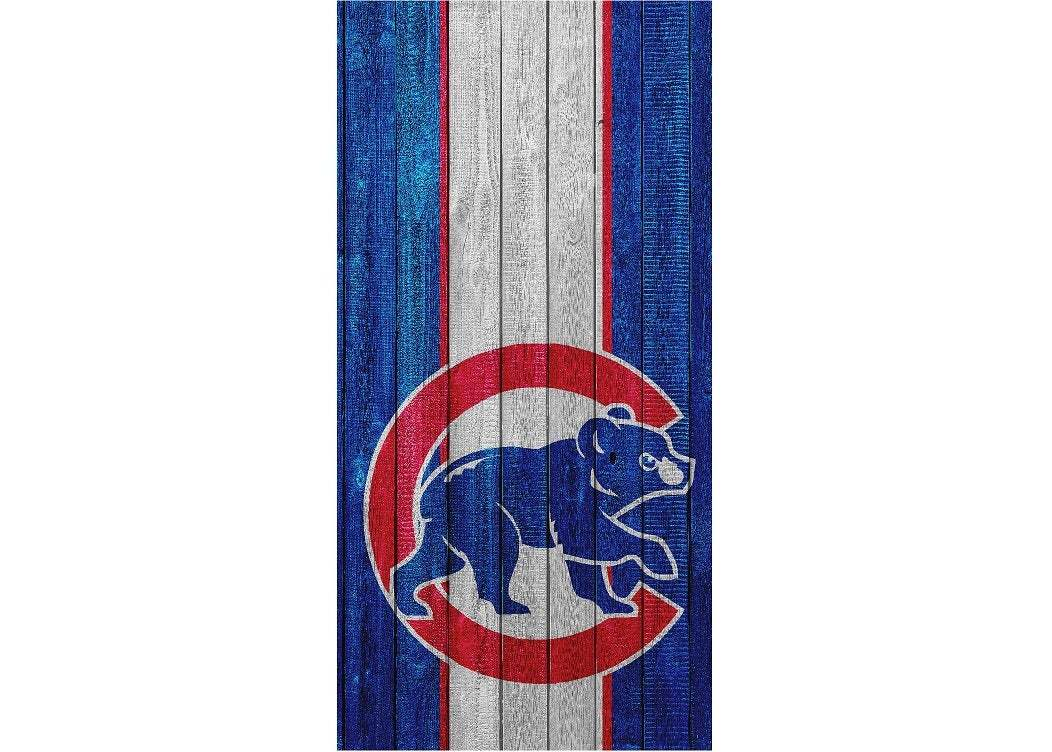 Cornhole Wrap Chicago Cubs - Stripe Bear - $30.00