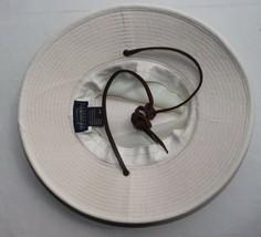 Dorfman Pacific Mesh Breezer OUTBACK HAT Light Tan Medium w/Leather strap image 2
