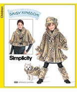 S3940 Girls' Coat + Misses' Capelet + Dog Coat +++ More Pattern 3-8/XS-XL - $12.99