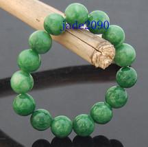 Free Shipping - green jadeite jade bracelet ,  Grade AAA Natural Green jadeite J - $25.99