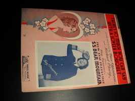 Sheet music there s so much to say with a lovely bouquet ss bear mountain kay parsons 1936 mills music 01 thumb200