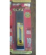 OLFA LBB-10B 18mm CARBON TOOL STEEL Sharp Black Heavy-Duty Snap-Off Blad... - $13.49