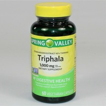 Spring Valley Triphala 1,000 mg Digestive Health 60 Capsules (Exp: 4/2022) - $9.49