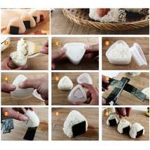 DIY Sushi Mold Onigiri Rice Ball Food Press Triangular Sushi Maker Mold ... - $4.00