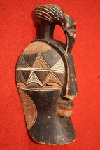 SCULPTURE AFRICANA WOOD PAINTED MASK COLLECTIBLES FIRST '900 (H 58 cm) - $1,761.05