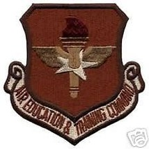 Air Force Air Education Training Desert Command Patch - $13.53