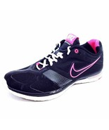 Nike Womens 7.5 Zoom Quick Flywire Training Shoes Black 386380-004 Low Top - $20.34