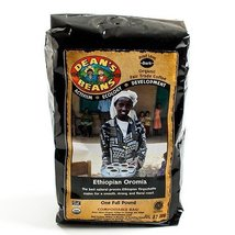 Ethiopian Organic Fair Trade Whole Bean Coffee (Oromia) (16 ounce) - $15.99