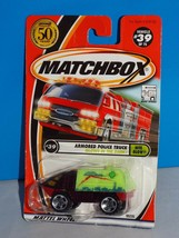 Matchbox 2002 Nite Glow Series #39 Armored Police Truck Glows In The Dark - $3.00