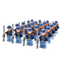 20pcs/set American Revolutionary War Union Army North soldiers Lego Minifigures - $39.99