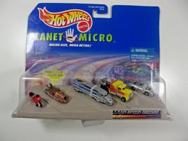 Hot Wheels Mattel Planet Micro Landspeed Record series Set - $17.27