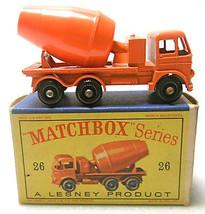 Vintage Matchbox Lesney Cement Lorry #26 Diecast Truck  - $55.62
