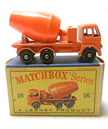 Vintage Matchbox Lesney Cement Lorry #26 Diecast Truck  - $55.62