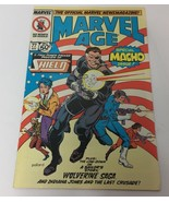 Marvel Age Vol. 1 No. 77 Comic Book Preview of Shield Special Macho Issu... - $11.65