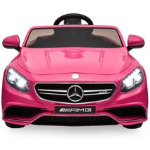 New 12V Mercedes S63 Ride on Electric Car For Kids Power wheels for girl... - $269.99