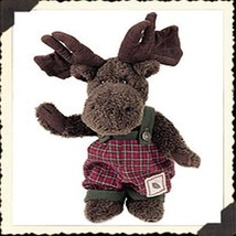 "Boyds Bear ""Murtaugh Moosetrax"" #917297 - 12"" Plush Moose- NWT- 2001- Retired - $39.99"